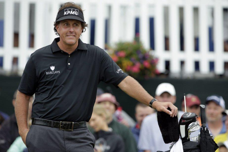Le golfeur de 42 a remis une carte... (Photo : Charlie Riedel, AP)