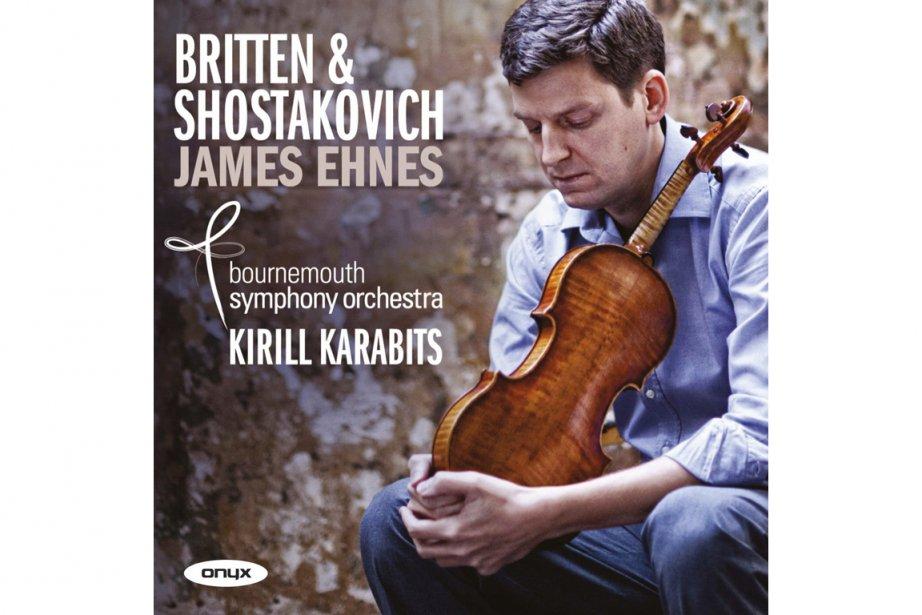 Les deux concertos que le violoniste canadien James Ehnes a jumelés ici -...