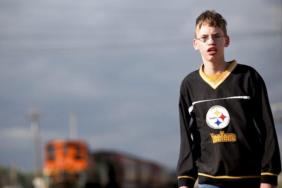 Alex, 14 ans dans le documentaire Intimidation.... (Photo: fournie par Canal D)