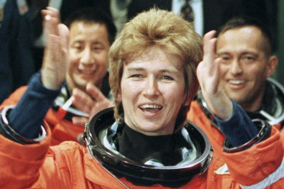 La troisième cosmonaute russe, Elena Kondakova, n'a volé... (PHOTO TONY RANZE, ARCHIVES AFP)
