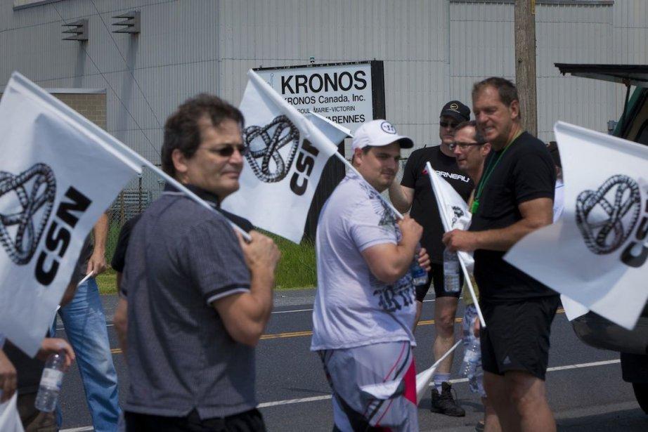 Le Syndicat national des employés de Kronos, affilié... (Photo André Pichette, La Presse)
