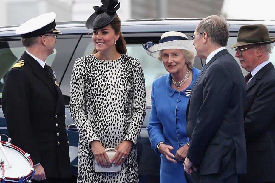 Kate Middleton... (Photo Chris Jackson, AFP)