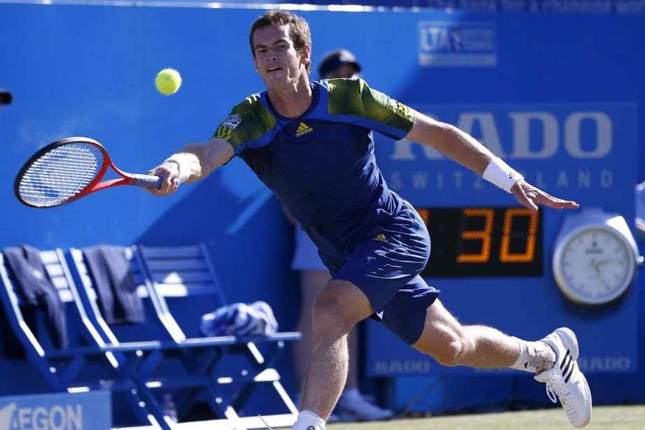 Andy Murray est la tête de série N.1.... (Photo : Eddie Keogh, Reuters)