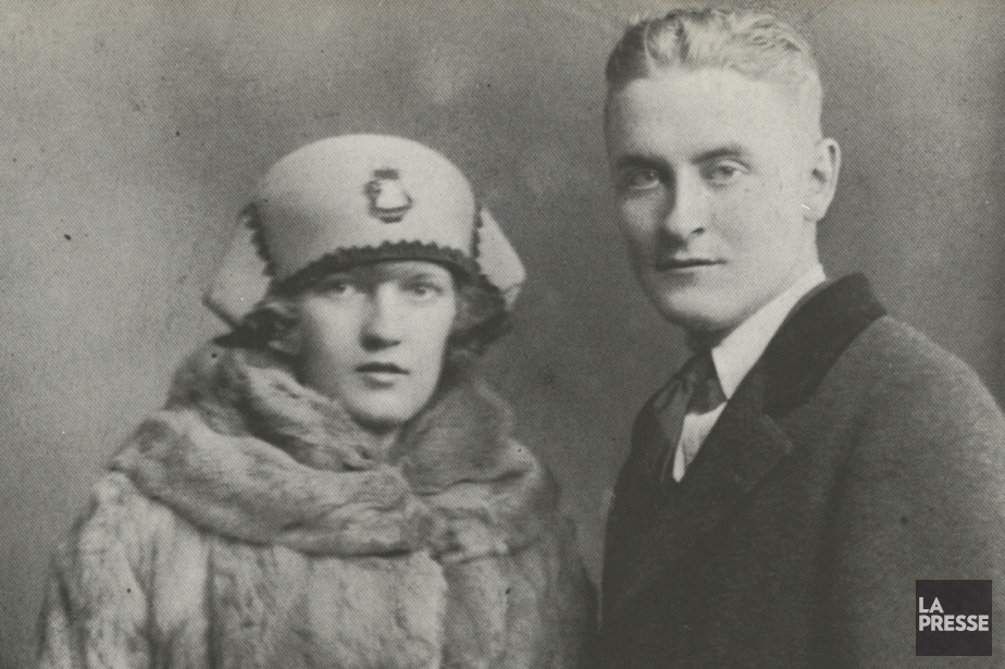 Zelda Sayre et Francis Scott Fitzgerald... (PHOTO ARCHIVES LA PRESSE)