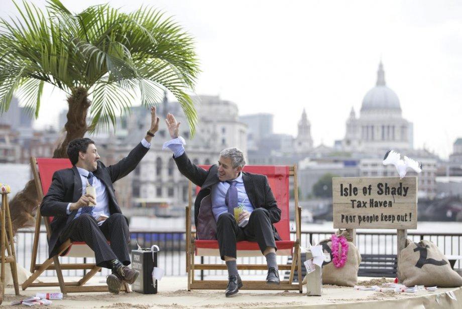 Comme il n'est plus possible de hausser lesimpôts,... (Photo JUSTIN TALLIS, archives Agence France-Presse)