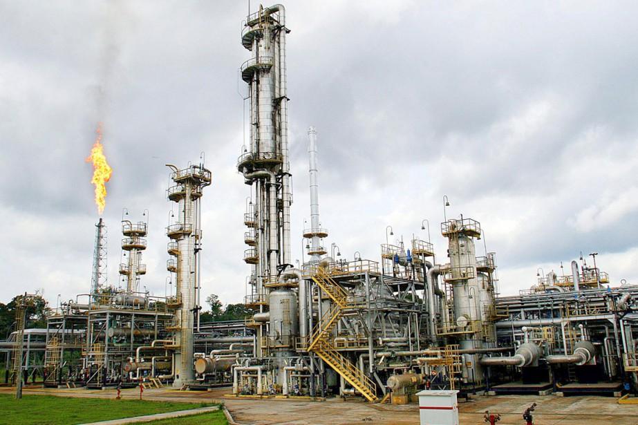 Une installation de Petrobras au Brésil.... (Photo Evaristo SA, archives AFP)