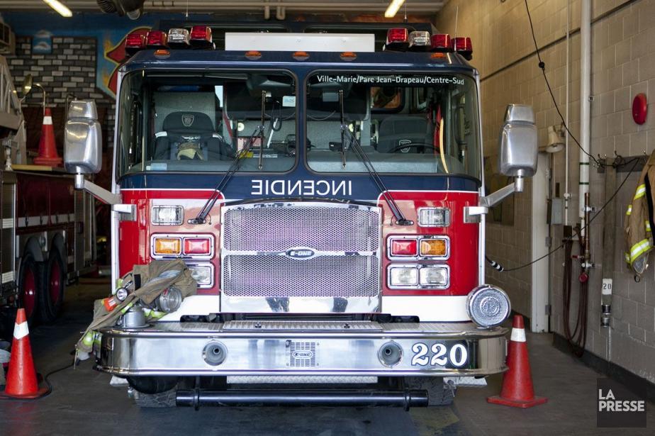 Un incendie criminel a causé de... (PHOTO MARCO CAMPANOZZI, ARCHIVES LA PRESSE)