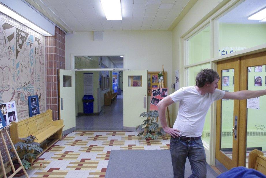 Guillaume Sylvestre pendant le tournageSecondaire 5.... (PHOTO FOURNIE PAR LA PRODUCTION)