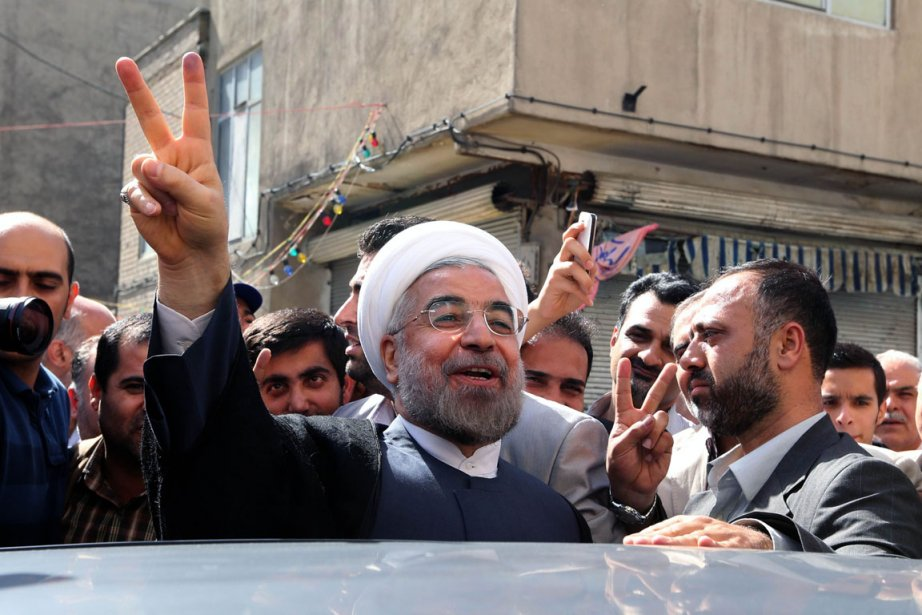 Hassan Rohani succède à Mahmoud Ahmadinejad dont la... (Photo : Atta Kenare, AFP)