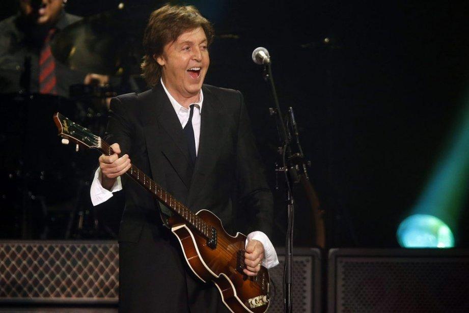 Paul McCartney, qui sera à Québec le 23... (PHOTO JASON DECROW, AP)