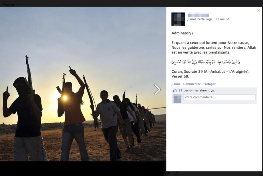 Le réseau social Facebook ne sert pas qu'à partager... (PHOTO TIRÉE DE FACEBOOK)
