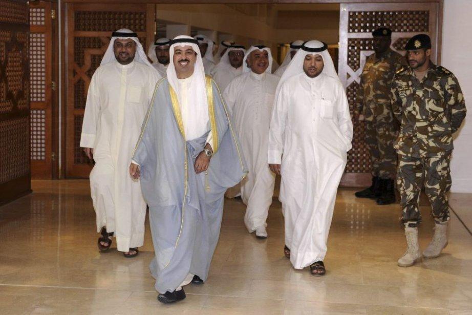 Le président du Parlement dissous, Ali al-Rached, a... (PHOTO YASSER AL-ZAYYAT, AFP)