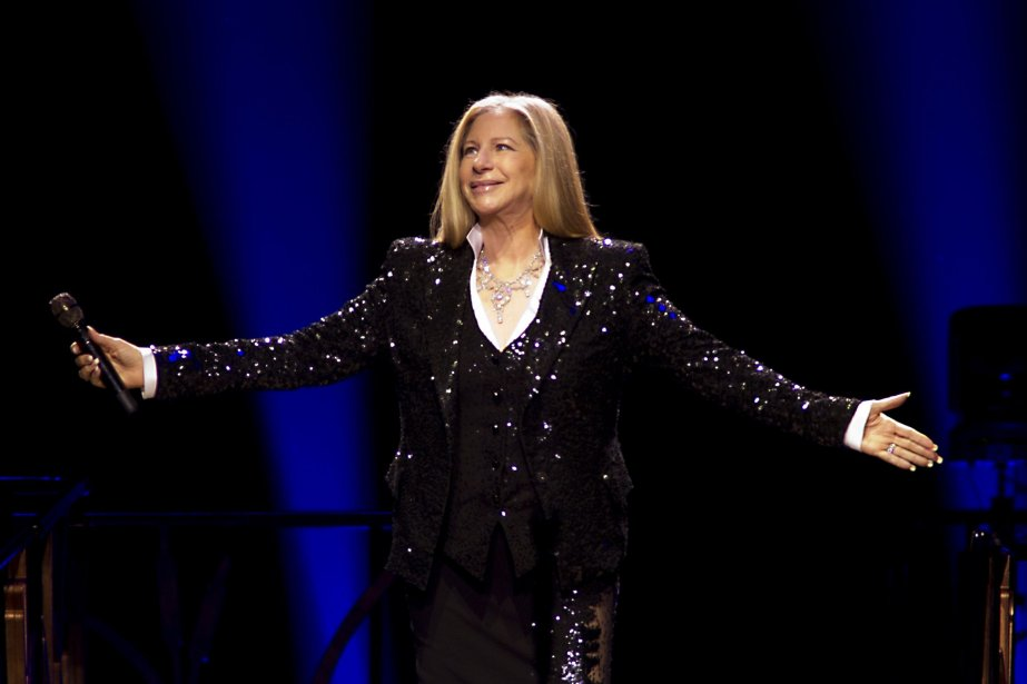 Barbra Streisand lors d'un concert aux Pays-Bas le... (PHOTO  PAUL BERGEN, AFP)