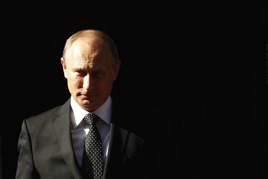 Le président russe Vladimir Poutine.... (PHOTO LUKE MCGREGOR, REUTERS)