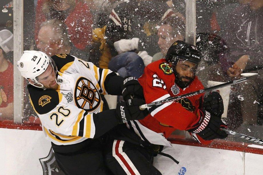 Avant d'affronter les Bruins, les Blackhawks ont eu... (Photo Jim Young, Reuters)