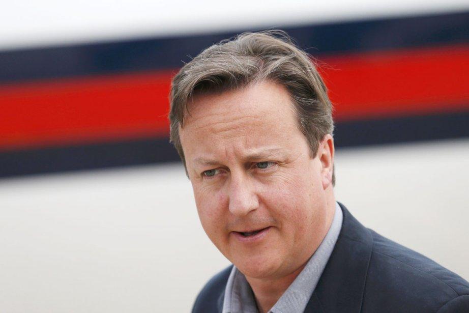 Le premier ministre David Cameron a sèchement refusé... (PHOTO SUZANNE PLUNKETT, REUTERS)