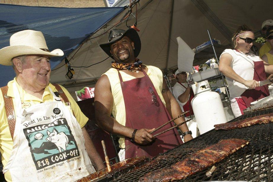Chaque année, le festival Nugget Rib Cook-off débute... (Photo fournie par le festival Nugget rib cook-off)