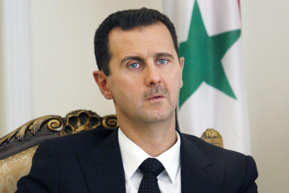 Le président syrien Bachar al-Assad.... (PHOTO VAHID SALEMI, ARCHIVES AP)