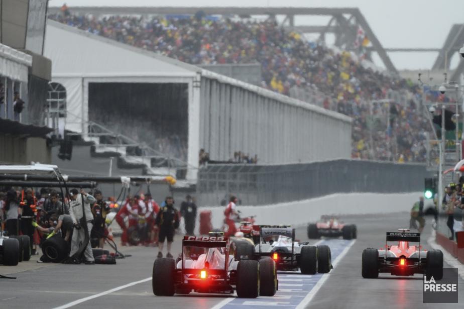Le Grand Prix du Canada à Montréal.... (Photo Bernard Brault, archives La Presse)