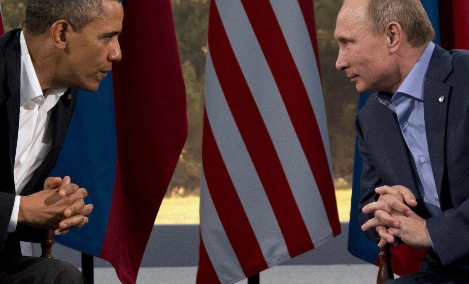 Obama a affirmé aussi que l'affaire Snowden ne... (Photo Evan Vucci, AP)