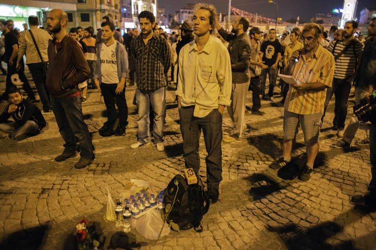 L'auteur de cette action inédite à Istanbul, qui... (Photo: AFP)
