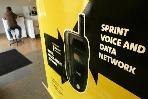 L'opérateur de téléphones mobiles américain Sprinta... (Photo: Associated Press)