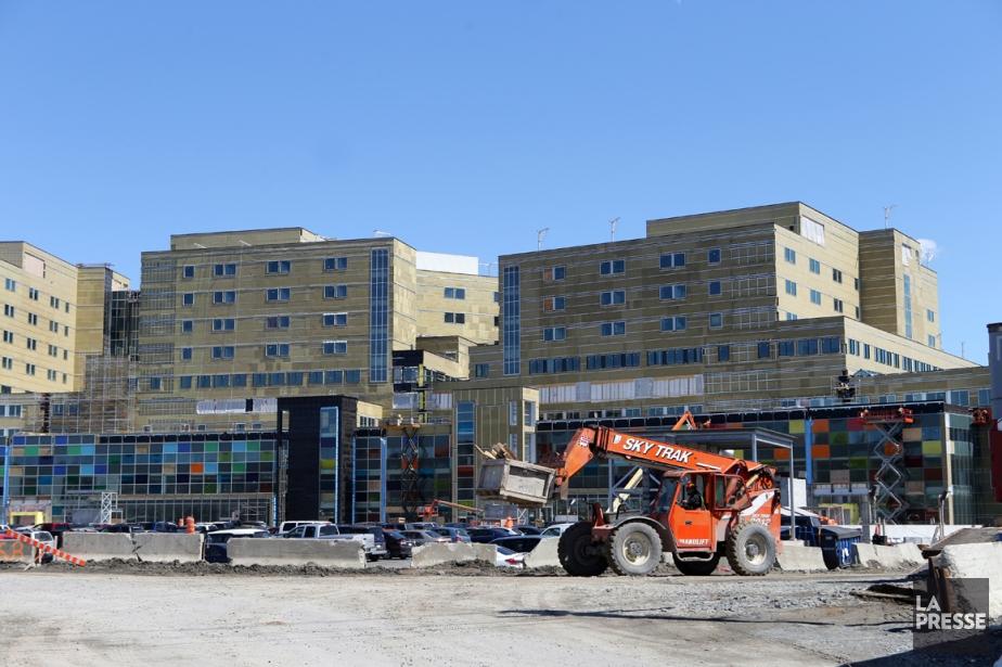 Le chantier du CUSM, l'un des plus importants... (Photo Martin Chamberland, Arcvhives La Presse)