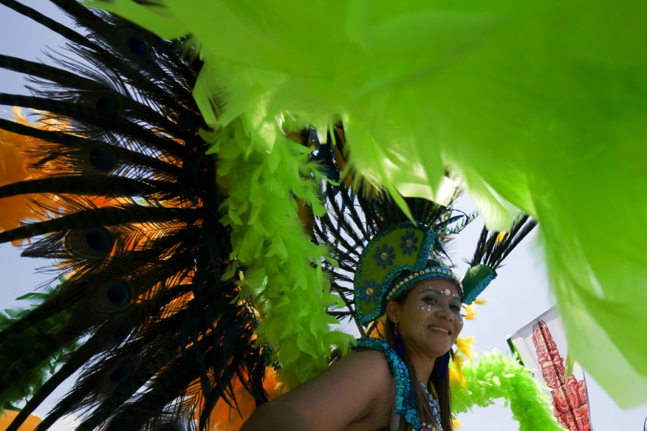 Caribana est le plus important carnaval des Caraïbes... (Photo Archives La Presse canadienne)