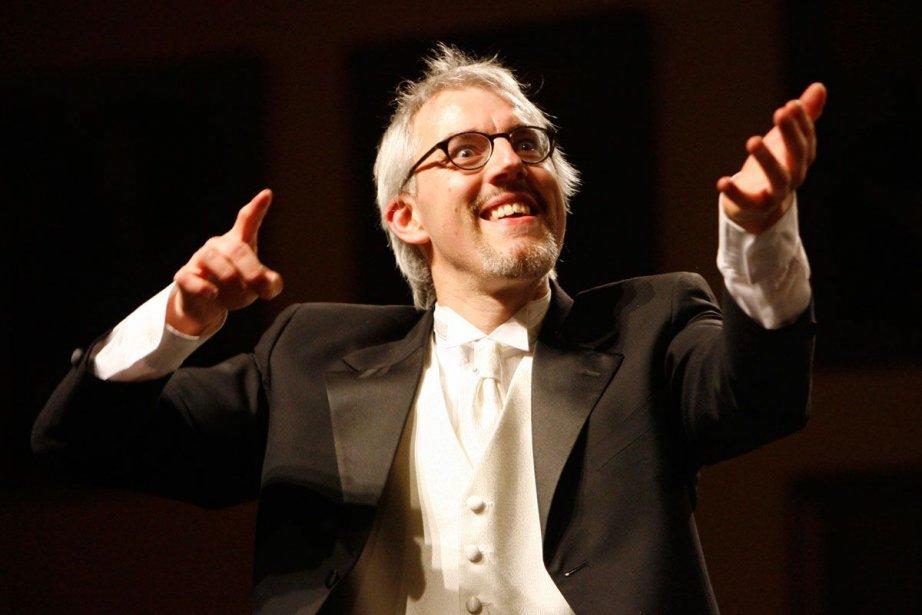 Matthias Maute dirige vendredi soir l'opéra de Vivaldi... (Photo André Tremblay, Archives La Presse)