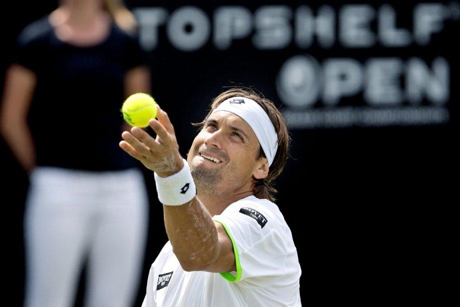 David Ferrer... (Photo Guus Schoonewille, AFP)