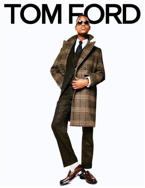 Conrad Bromfield pour Tom Ford (Photo fournie par Tom Ford)