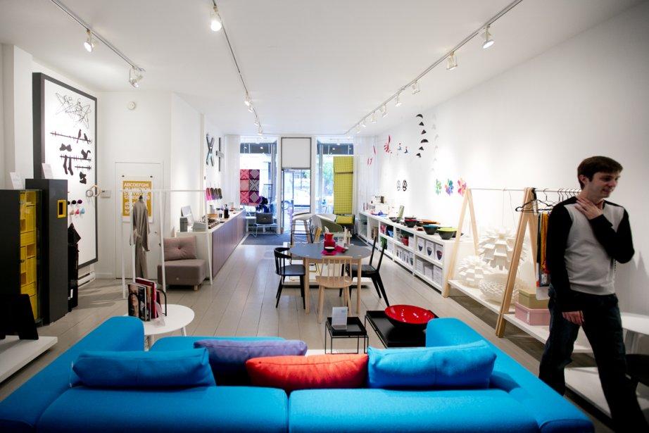 Au départ, les propriétaires de la boutique Jamais assez, Geneviève Cyr et...