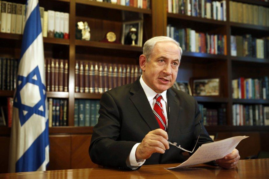 Le premier ministre israélien Benjamin Nétanyahou.... (PHOTO DARREN WHITESIDE, REUTERS)
