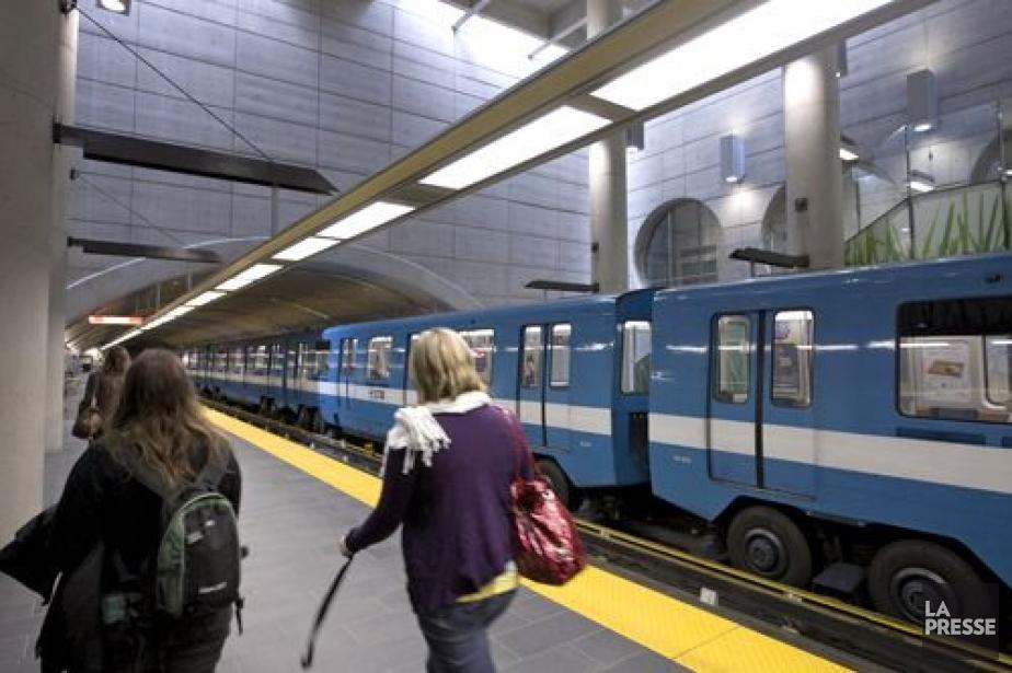 Le métro de Montréal a été encore... (Photo: Alain Roberge, archives La Presse)