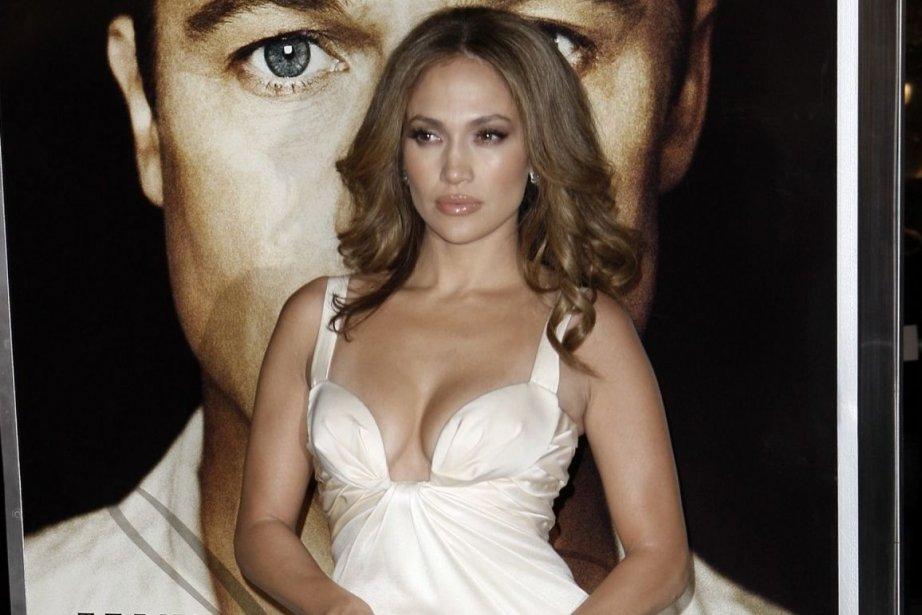 L'actrice et chanteuseJennifer Lopez.... (Photo Archives AP)