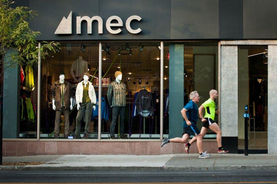 L'ancien logo dudétaillant de matériel pour activités récréatives... (Photo fournie par MEC, archives)
