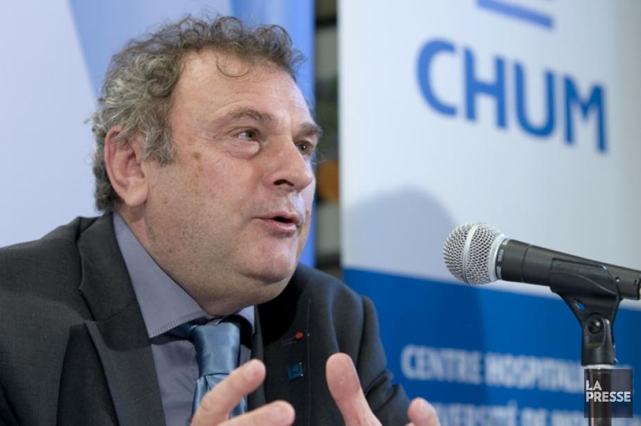 Le directeur général du CHUM, Christian Paire.... (Photo: Alain Roberge, archives La Presse)