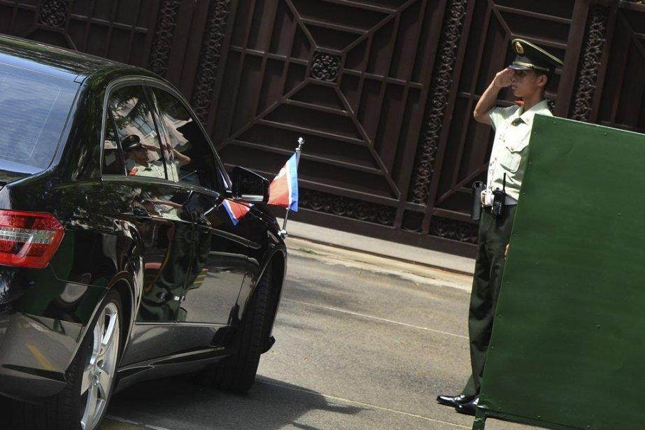 Le vice-ministre chinois des Affaires étrangères, Zhang Yesui,... (Photo AFP)