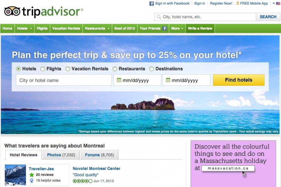 Le site internet de conseils aux voyageurs TripAdvisor va racheter la jeune...