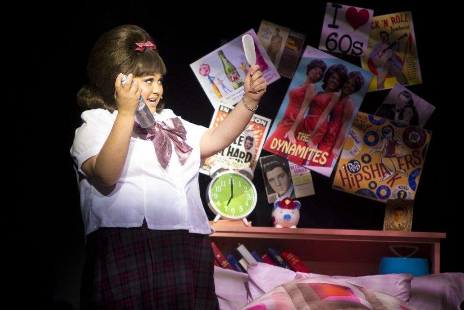 Dans Hairspray, Vanessa Duchel incarne Tracy, adolescente qui rêve d'être... | 2013-06-19 00:00:00.000