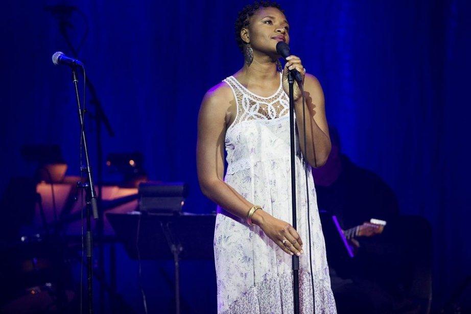 L'hommage rendu hier soir à la célèbre artiste... (Photo: La Presse Canadienne)