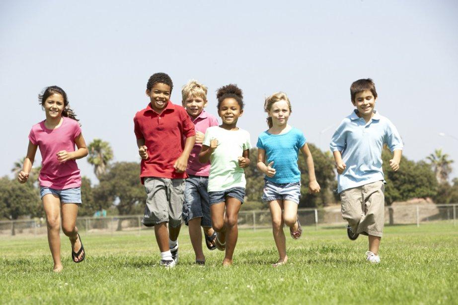 Les enfants québécois sont généralement en bonne... (PHOTOTHÈQUE LA PRESSE)