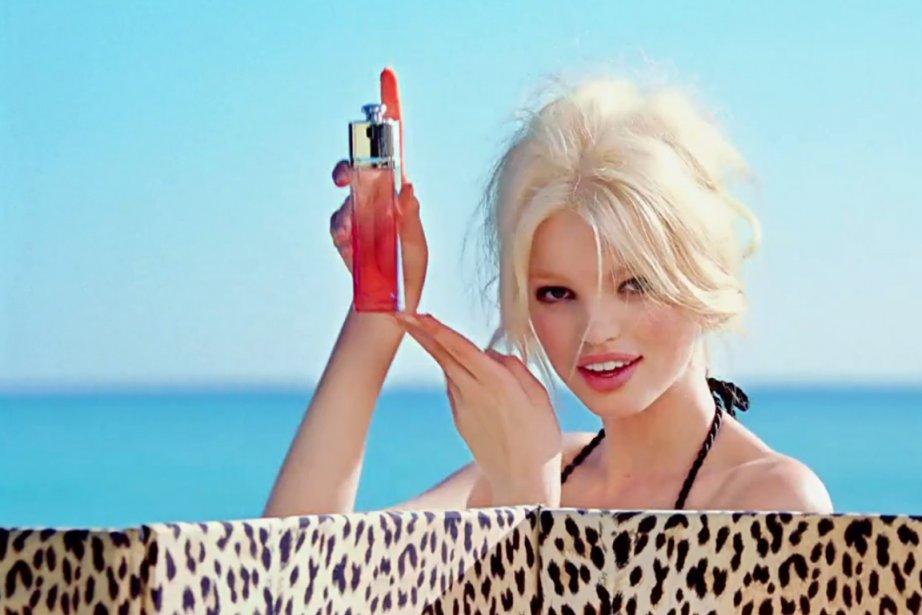 """Extrait de la campagne pour """"Dior Addict"""" avec... (Photo tirée de la vidéo Dior)"""