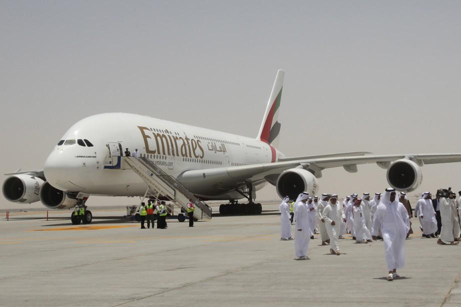 18 millions de voyageurs ont plébiscité Emirates.... (PHOTO ARCHIVES AFP)
