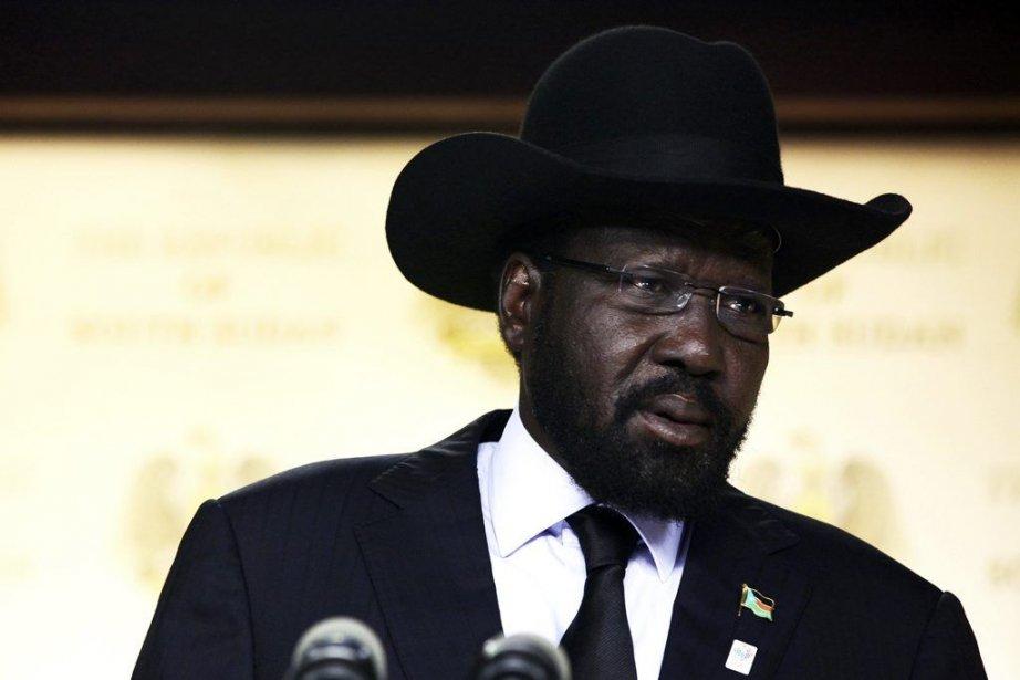 Le président du Soudan du Sud Salva Kiir... (PHOTO  ANDREA CAMPEANU, REUTERS)