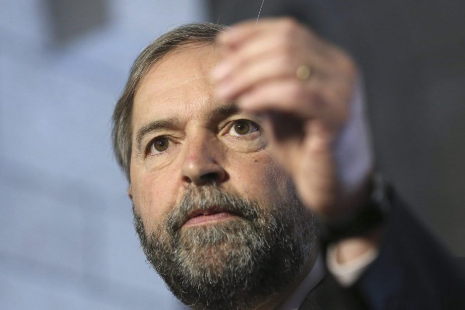 Thomas Mulcair, le chef du NPD.... (PHOTO CHRIS WATTIE, REUTERS)