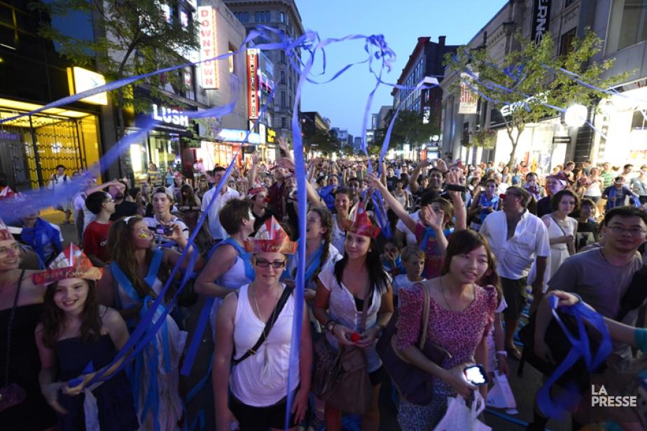 Terra Karnaval ouvrira le festival avec la parade... (Photo Bernard Brault, archives La Presse)