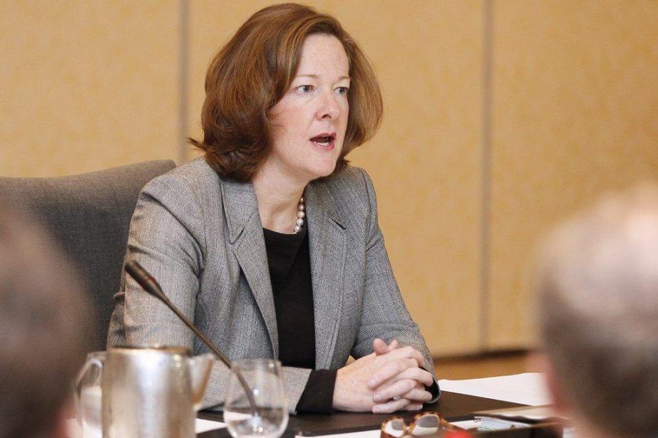 Alison Redford... (Photo La Presse Canadienne)