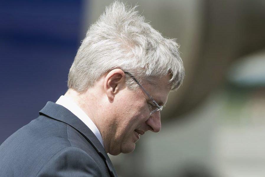 Le premier ministre Stephen Harper.... (La Presse Canadienne)