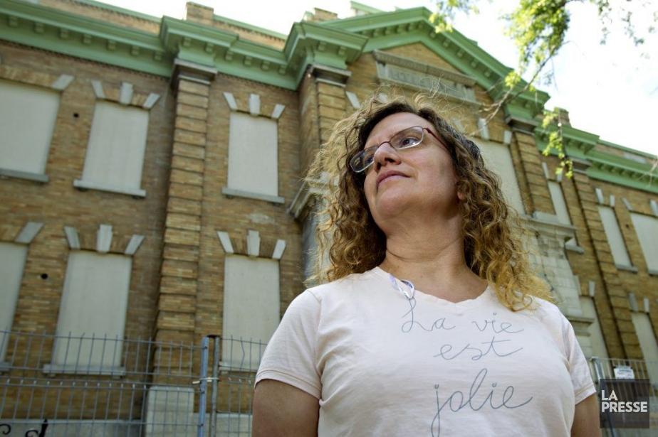 Michèle Henrichon, enseignante à l'école Baril dont les... (Photo Olivier Jean, La Presse)